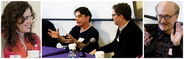 Annual Festival of Writing panel for School of Communication