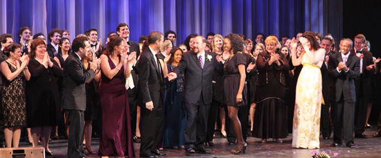Headlining performances from Gregg Edelman, Heather Headley, Brian d'Arcy James, Kate Shindle, Janette Zilioli, and Willis White were just the beginning of the sparkle of Starry Starry Night