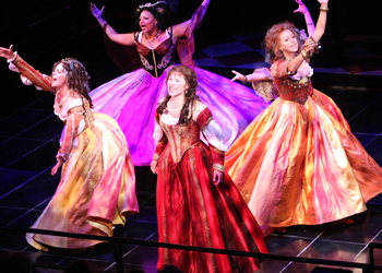 Dangerous Beauty, staged by Northwestern's American Music Theatre Project in 2008, will have its professional premiere at the Pasadena Playhouse. Photo by Andrew Campbell