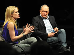 Stephanie March moderated by David Downs, professor emeritus in service