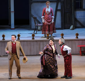 Scene from Show Boat at the Chicago Lyric Opera