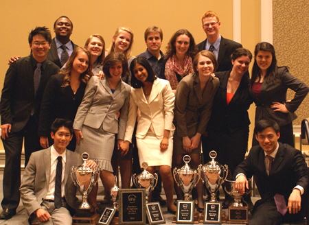 Speech team takes first in division for fourth year running